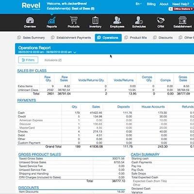 Revel enterprise management
