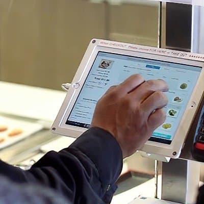 Revel self-service kiosk